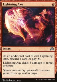 Lightning Axe - Shadows over Innistrad