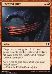 Uncaged Fury - Shadows over Innistrad