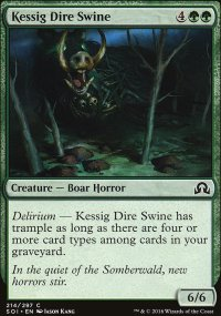 Kessig Dire Swine - Shadows over Innistrad