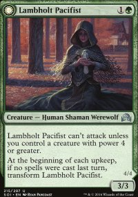 Lambholt Pacifist - Shadows over Innistrad