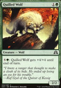 Quilled Wolf - Shadows over Innistrad