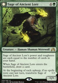 Sage of Ancient Lore - Shadows over Innistrad