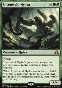 Ulvenwald Hydra - Shadows over Innistrad