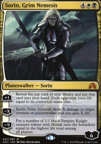 Sorin, Grim Nemesis - Shadows over Innistrad