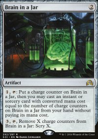 Brain in a Jar - Shadows over Innistrad