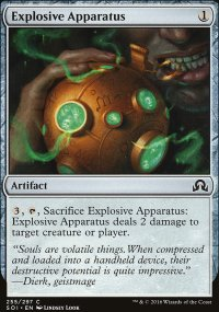 Explosive Apparatus - Shadows over Innistrad