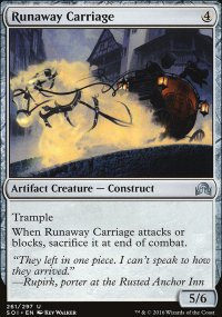 Runaway Carriage - Shadows over Innistrad