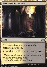 Forsaken Sanctuary - Shadows over Innistrad