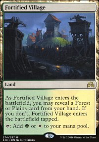 Fortified Village - Shadows over Innistrad