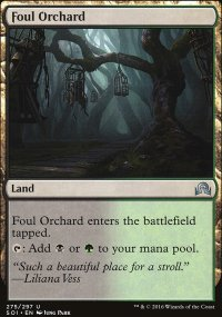 Foul Orchard - Shadows over Innistrad