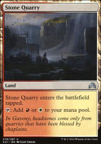 Stone Quarry - Shadows over Innistrad