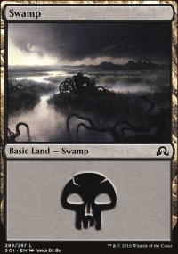 Swamp 1 - Shadows over Innistrad
