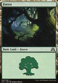 Forest 3 - Shadows over Innistrad
