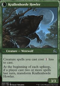 Krallenhorde Howler - Shadows over Innistrad