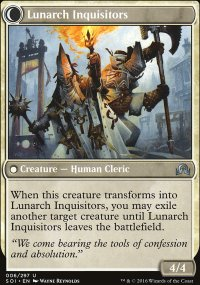 Lunarch Inquisitors - Shadows over Innistrad