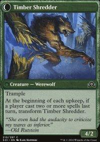 Timber Shredder - Shadows over Innistrad