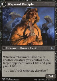 Wayward Disciple - Shadows over Innistrad