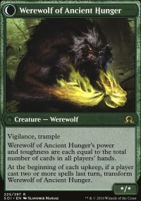 Werewolf of Ancient Hunger - Shadows over Innistrad