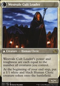 Westvale Cult Leader - Shadows over Innistrad
