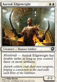 Auriok Edgewright - Scars of Mirrodin