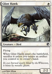 Glint Hawk - Scars of Mirrodin