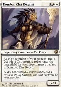 Kemba, Kha Regent - Scars of Mirrodin