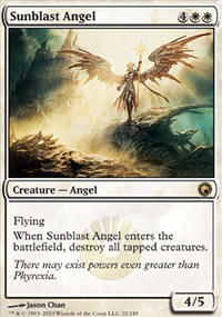 Sunblast Angel - Scars of Mirrodin