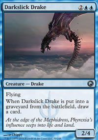 Darkslick Drake - Scars of Mirrodin