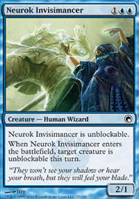 Neurok Invisimancer - Scars of Mirrodin