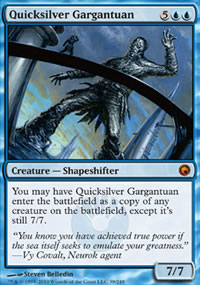 Quicksilver Gargantuan - Scars of Mirrodin