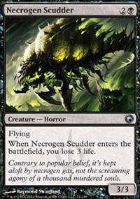 Necrogen Scudder - Scars of Mirrodin