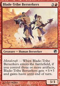 Blade-Tribe Berserkers - Scars of Mirrodin