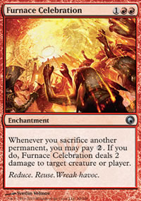 Furnace Celebration - Scars of Mirrodin