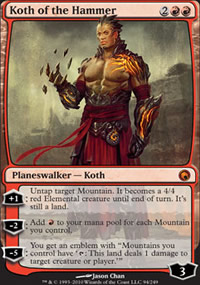 Koth of the Hammer - Scars of Mirrodin