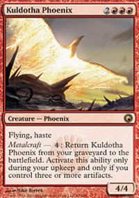 Kuldotha Phoenix - Scars of Mirrodin