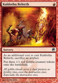 Kuldotha Rebirth - Scars of Mirrodin