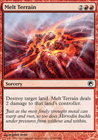 Melt Terrain - Scars of Mirrodin