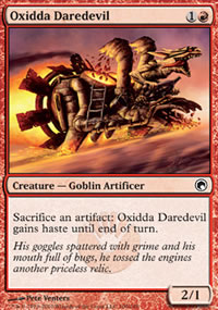 Oxidda Daredevil - Scars of Mirrodin