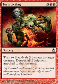 Turn to Slag - Scars of Mirrodin