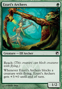 Ezuri's Archers - Scars of Mirrodin