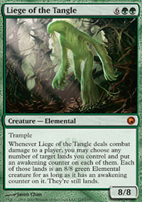 Liege of the Tangle - Scars of Mirrodin
