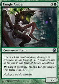 Tangle Angler - Scars of Mirrodin