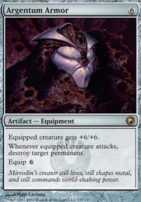 Argentum Armor - Scars of Mirrodin