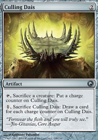 Culling Dais - Scars of Mirrodin