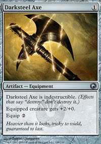 Darksteel Axe - Scars of Mirrodin