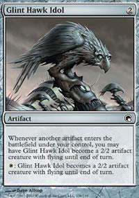 Glint Hawk Idol - Scars of Mirrodin