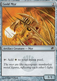 Gold Myr - Scars of Mirrodin