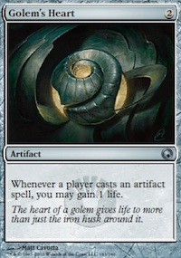 Golem's Heart - Scars of Mirrodin