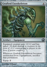 Grafted Exoskeleton - Scars of Mirrodin