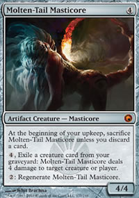 Molten-Tail Masticore - Scars of Mirrodin